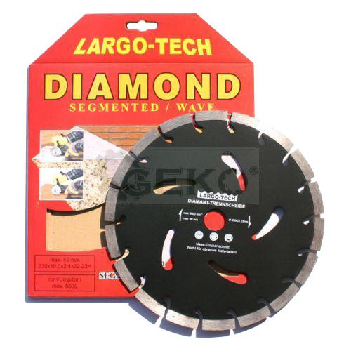 Kotúč diamantový rezný 230mm GEKO G00284