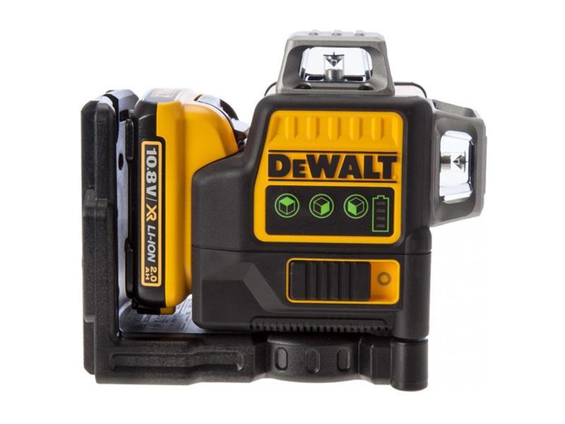 Laser krížový AKU DEWALT DCE0811D1G samonivelačné