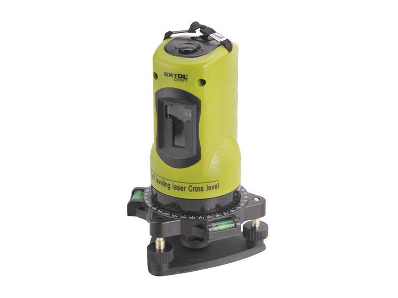 Laserová vodováha samourovnávacia 1H1V  EXTOL CRAFT