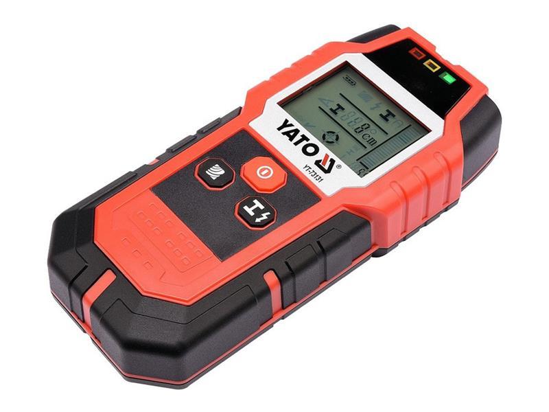 Detektor kovov a elektrických vedení YATO YT-73131