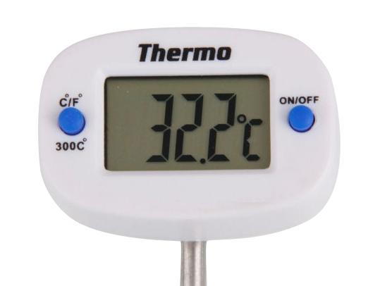 Teploměr digitální vpichovací 50-300°C s otočnou hlavou