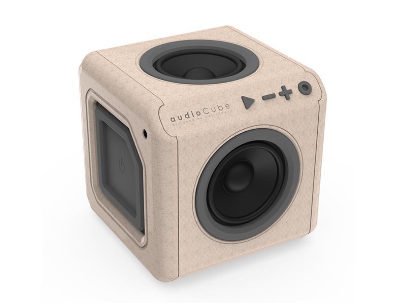 Reproduktor Bluetooth AUDIOCUBE PORTABLE WOOD