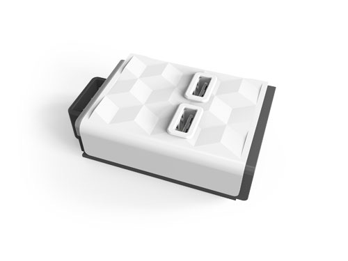 Modul POWERCUBE Power Strip MODULAR 2x USB