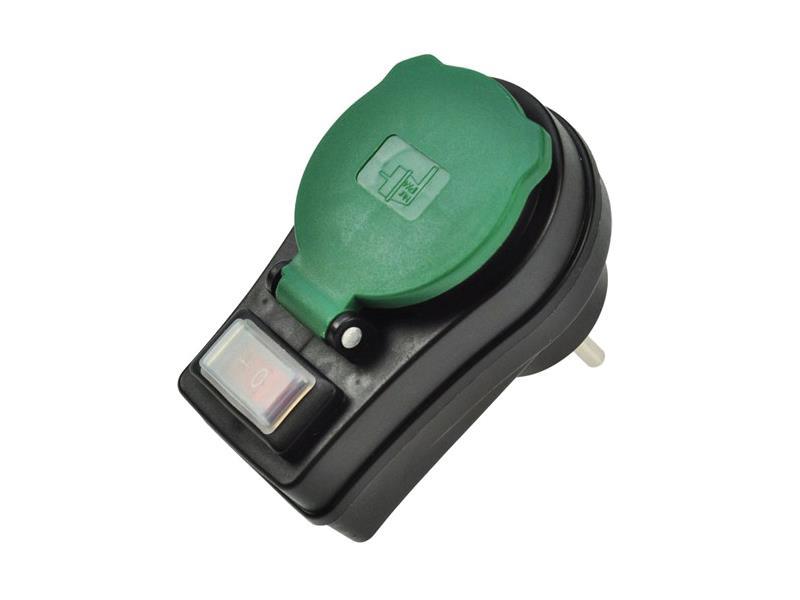 Zásuvka priebežná SOLIGHT P98 IP44