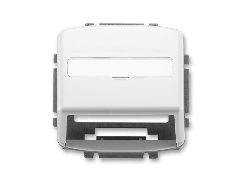 Kryt zásuvky pre nosné masky ABB TANGO 5014A-A100 B WHITE