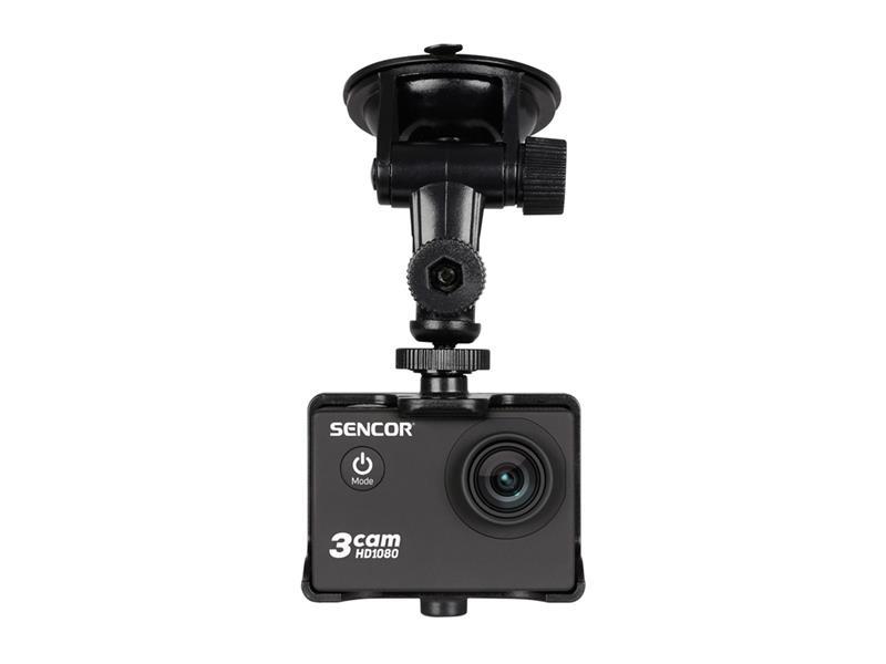 Držák a nabíjačka do auta pre kameru akční SENCOR 3CAM 4K01W Outdoor - CAR SET