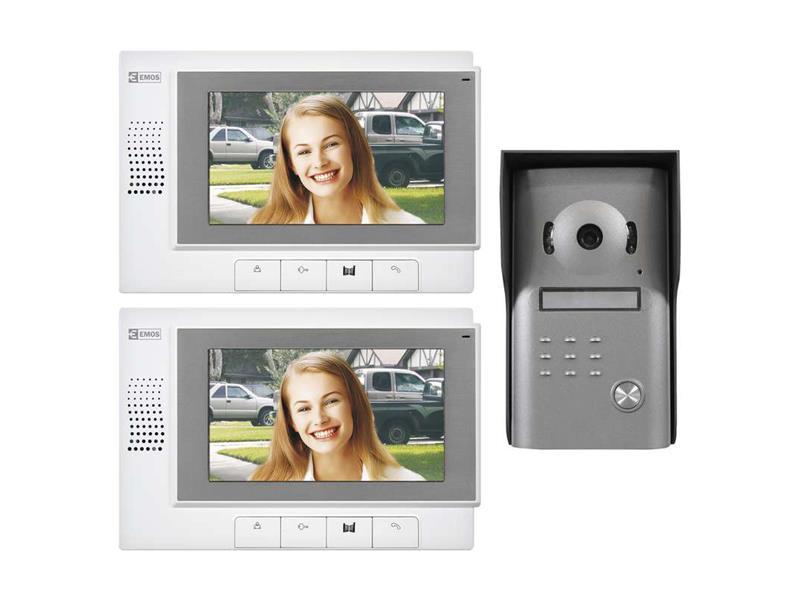Sada videotelefónu EMOS, model RL-03 , 2 monitory