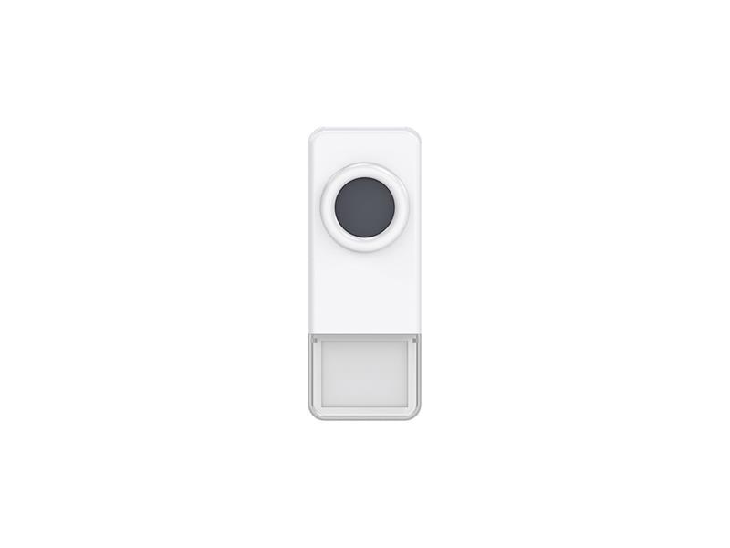 Tlačidlo bezdrôtove GETI pre GWD sériu zvončekov biele