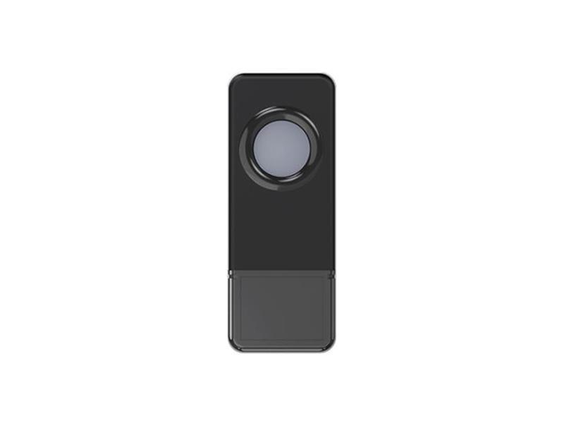 Tlačidlo bezdrôtove GETI pre GWD sériu zvončekov čierne