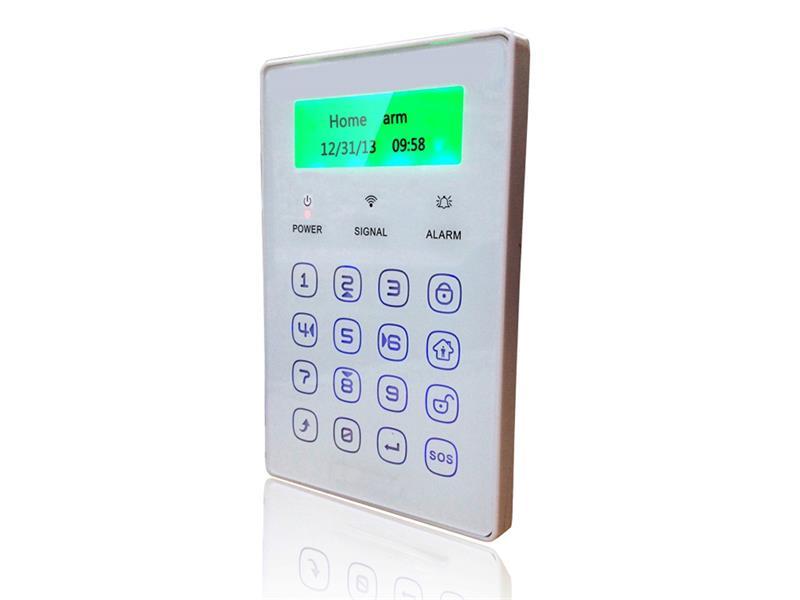 Klávesnica iGET SECURITY P13 LCD bezdrôtová