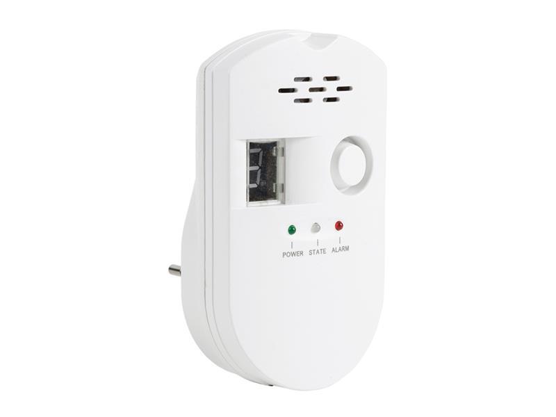 Detektor LPG, zemného plynu a svietiplynu KÖNIG SAS-GD100