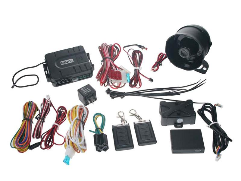 Autoalarm SPY PKE, bezdotykové dálkové ovládání