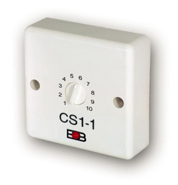 Časový spínač CS1-1 pro ventilátory