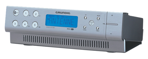 Rádio GRUNDIG SONOCLOCK 890 AL kuchynský
