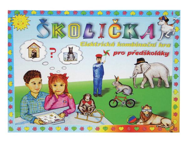 Hra vzdelávacia Školička