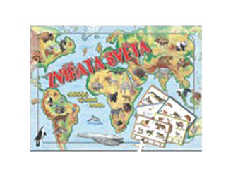 Hra vzdelávacia Zvieratá sveta