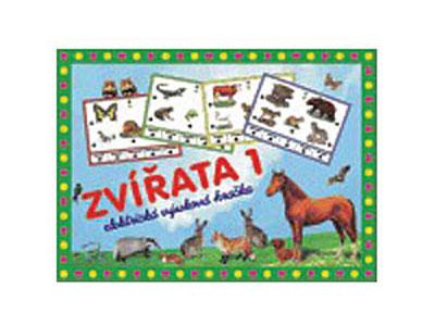 Hra vzdelávacia Zvieratá 1
