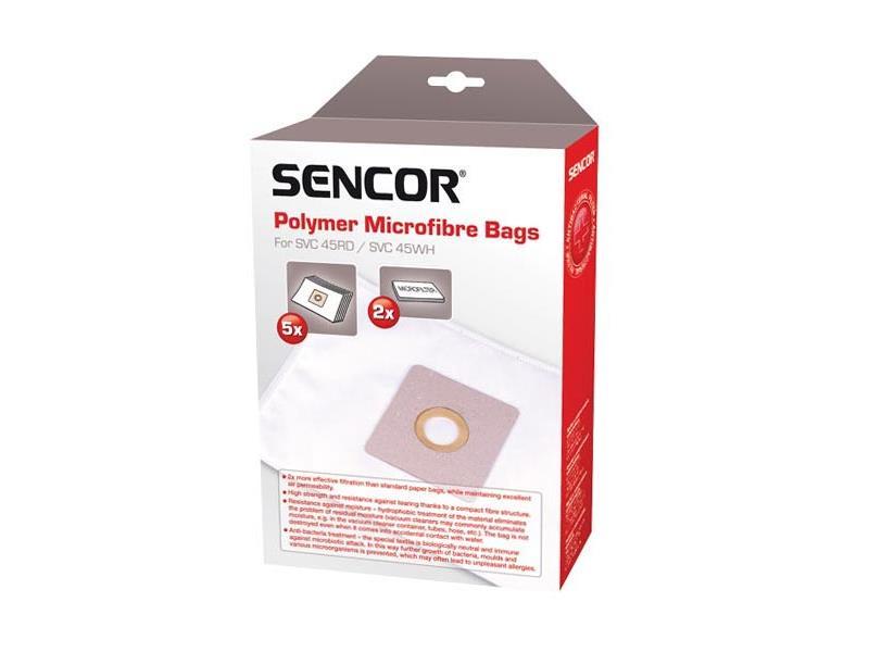 Vrecko SENCOR SVC 45/52 Micro 5ks do vysávača