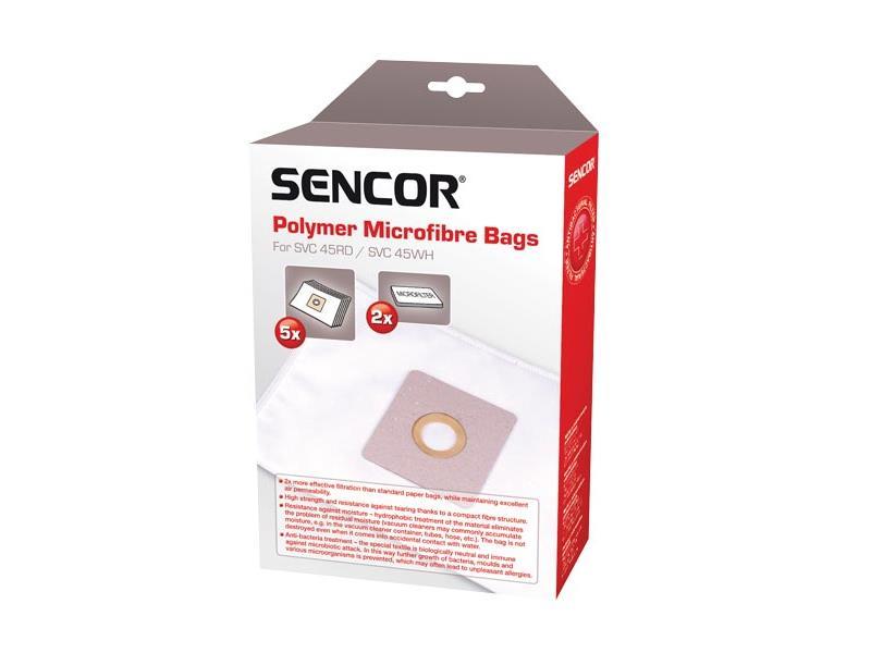 Sáčky do vysávača SENCOR SVC 840 Micro