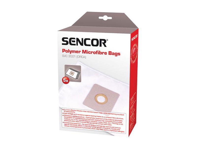 Sáčky do vysávača SENCOR SVC-3001