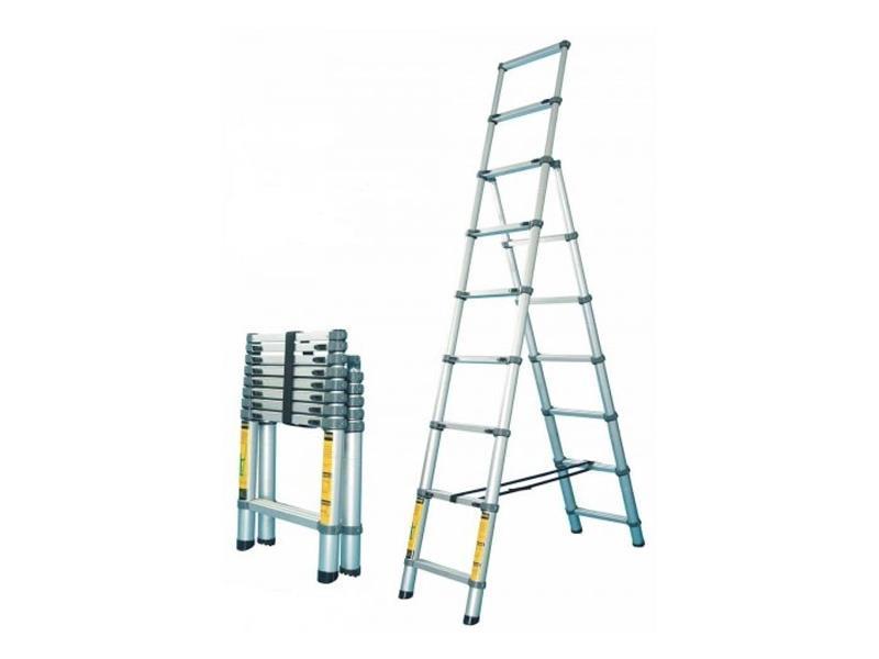 Rebrík/štafle hliníkový teleskopický G21 GA-TZ9+11-3,2M