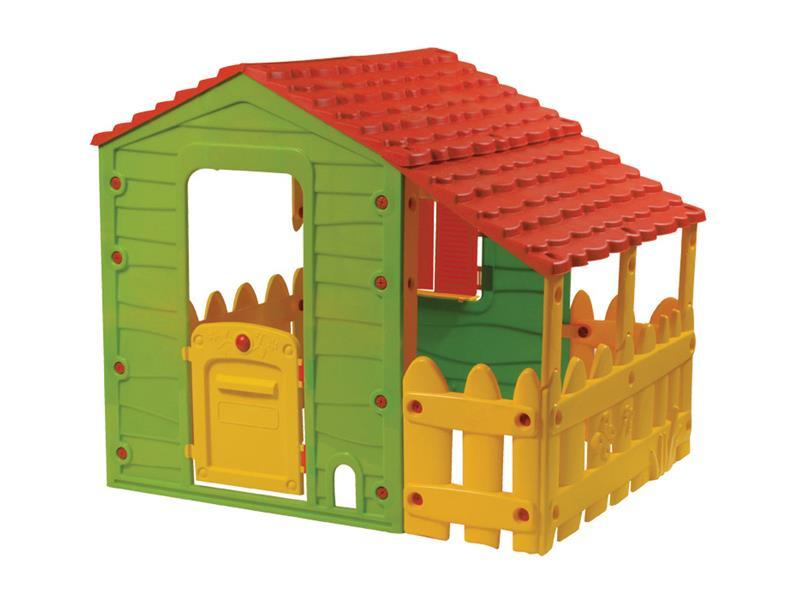 Domček detský FARM BUDDY TOYS BOT 1130 s verandou