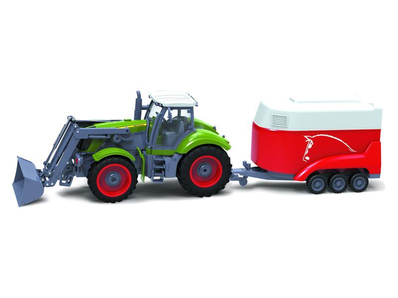 RC model traktor + přívěs BUDDY TOYS BRC 28.611