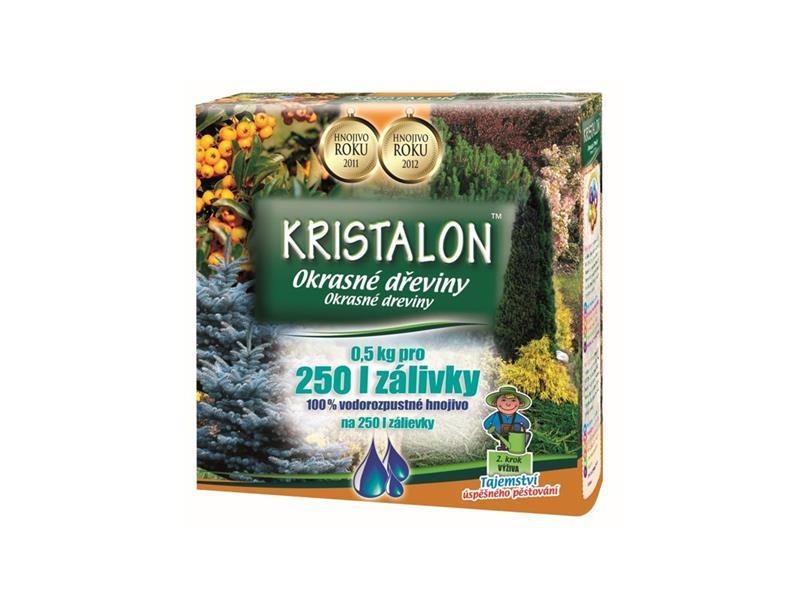 Hnojivo kryštalickej KRISTALON okrasné dreviny 0.5 kg