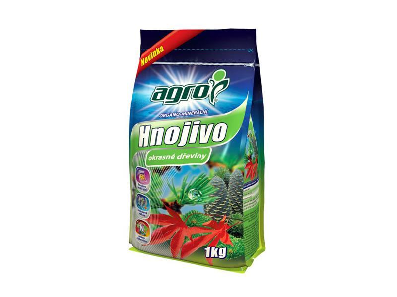 Hnojivo organominerálne AGRO pre okrasné dreviny 1 kg