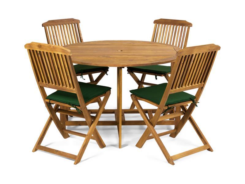Podsedák stoličky Fieldmann FDZN 9023 Holly sada 4 ks zelená