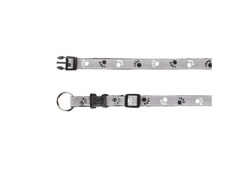 Obojok reflexný TRIXIE SILVER REFLECT L / XL 40 - 65 cm