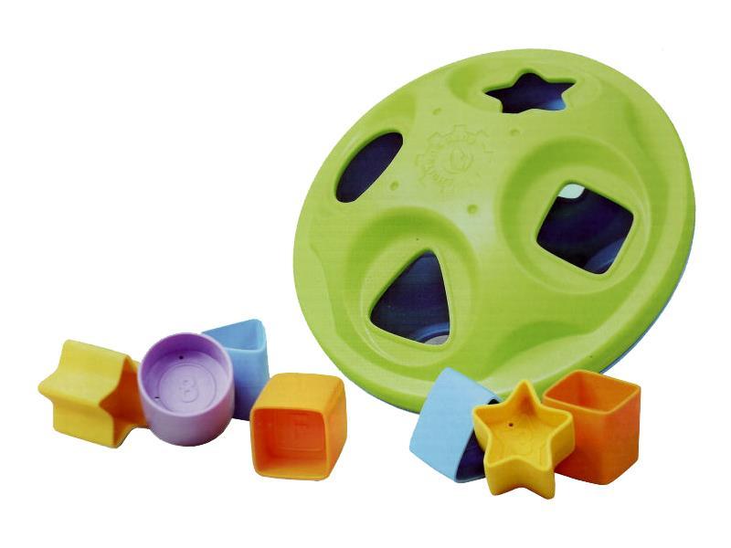 Vhadzovací hračka HUTERMANN tvary