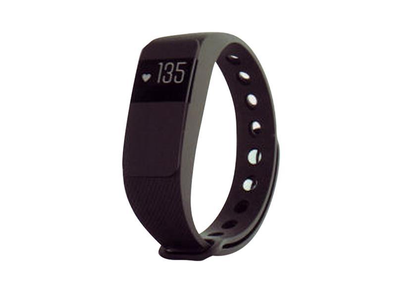 FitnesFitness náramek s měřením tepu FT64S OLED, Bluetooth 4.0, Android+iOS černá