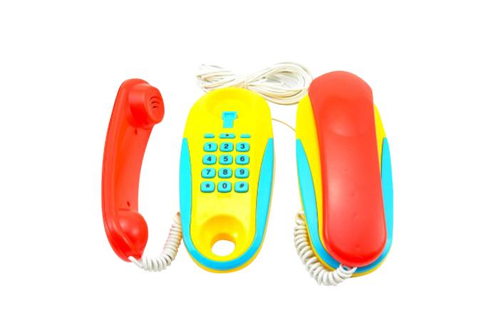 Telefóny detské TEDDIES 2ks
