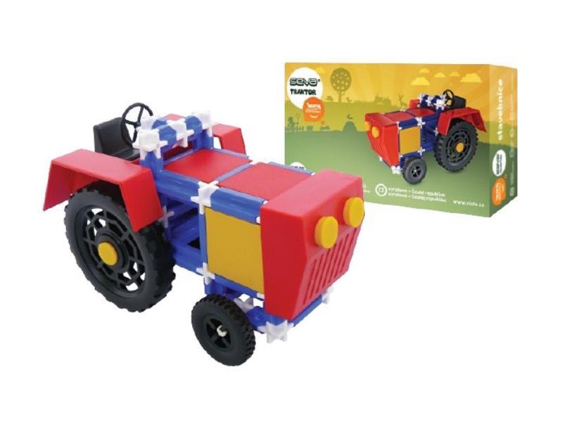Stavebnica SEVA traktor 115