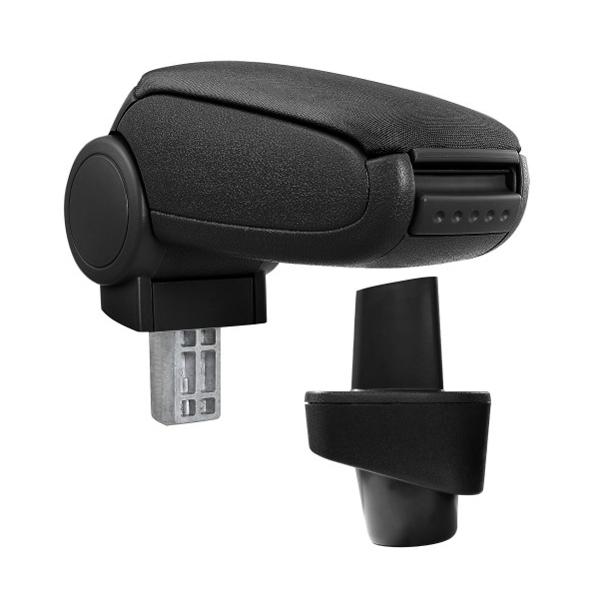Opierka lakťová RENAULT CLIO III textilné čierna