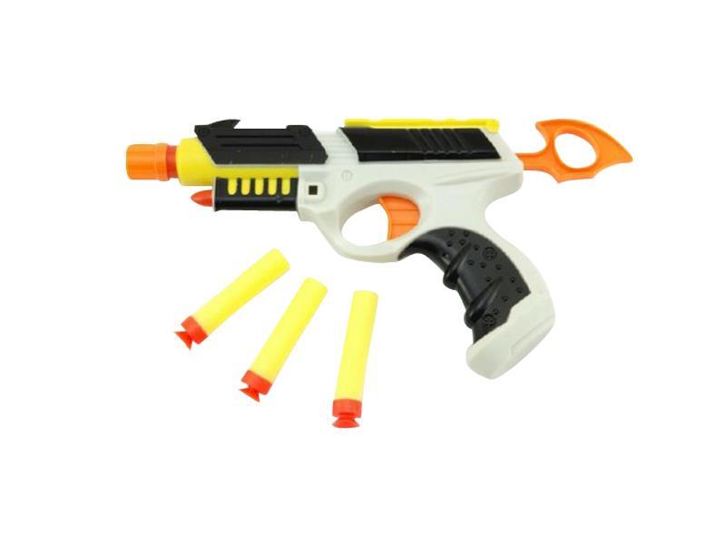 Pištoľ detská TEDDIES HANDGUN II penové náboje