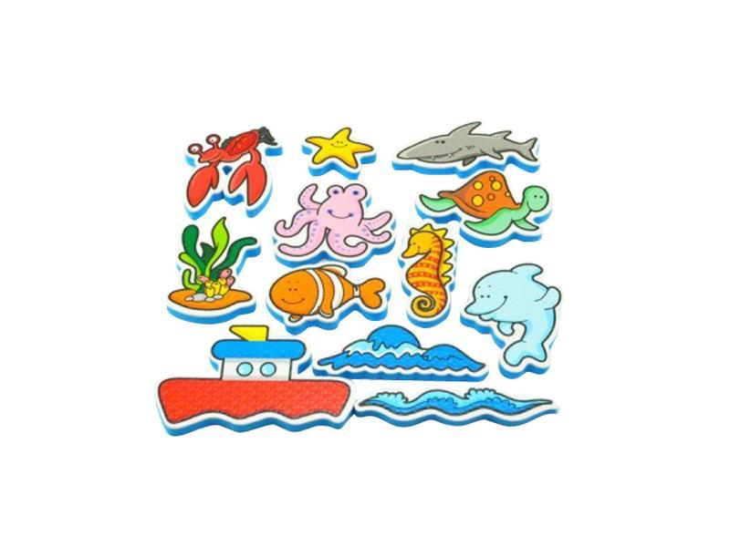 Detské vodolepky TEDDIES Moje prvé zvieratká oceán