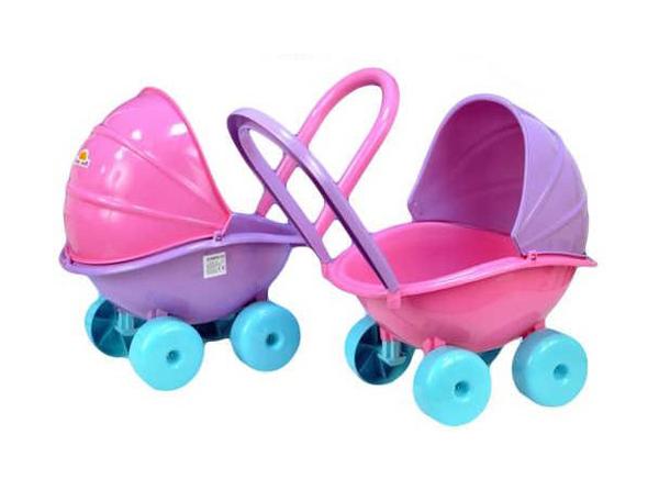Kočík pre bábiky TEDDIES detský