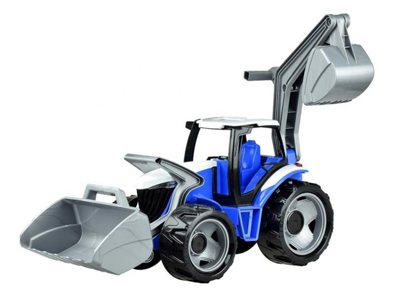 Detský traktor LENA BLUE 65 cm