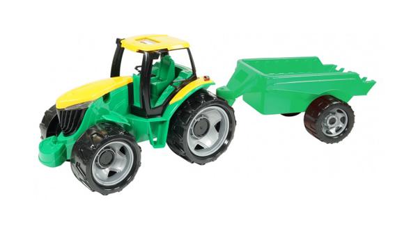 Detský traktor s prívesom LENA 94 cm