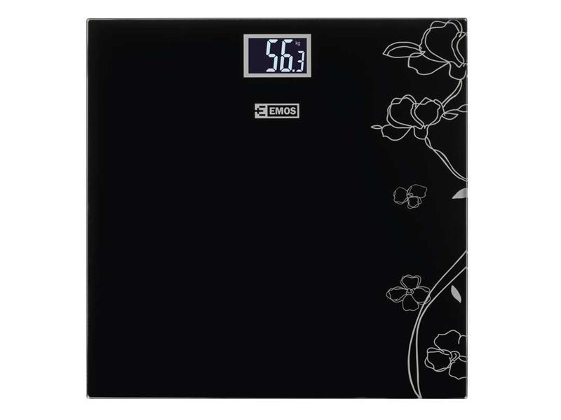 Osobná digitálna váha EV106 čierna