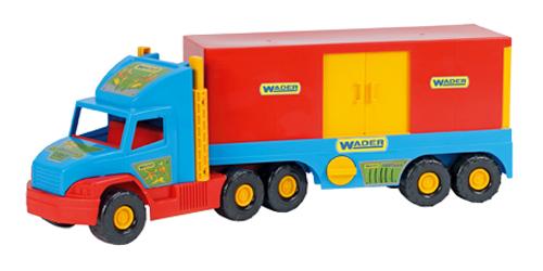 Detské nákladné auto s kontajnerom WADER 78 cm