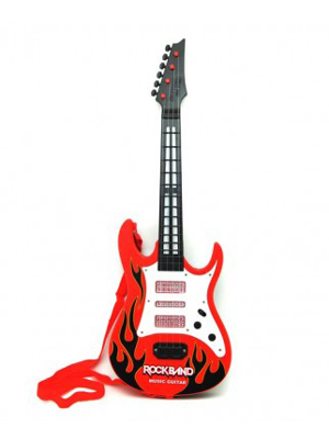 Gitara elektrická TEDDIES detská RED