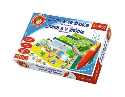 Hra vzdelávacia TREFL MALÝ OBJAVITEĽ doma v škôlke