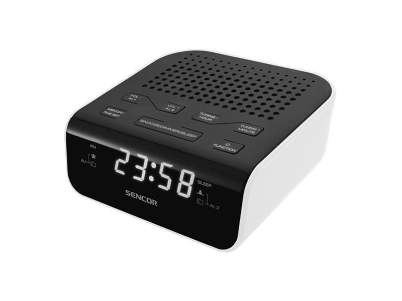 Rádiobudík SENCOR SRC 136 WH