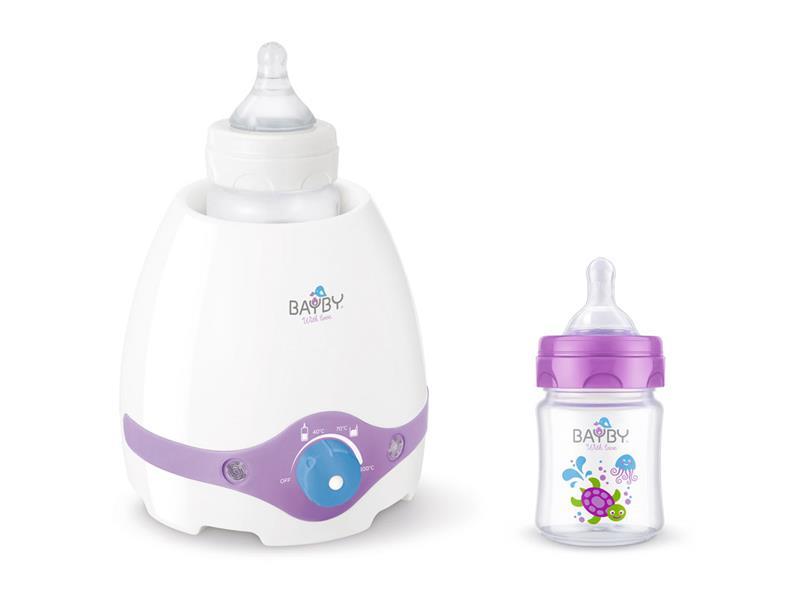 Ohřívač kojeneckých lahví BBW 2000 + láhev 120ml 0měsíců+ BFB 6100
