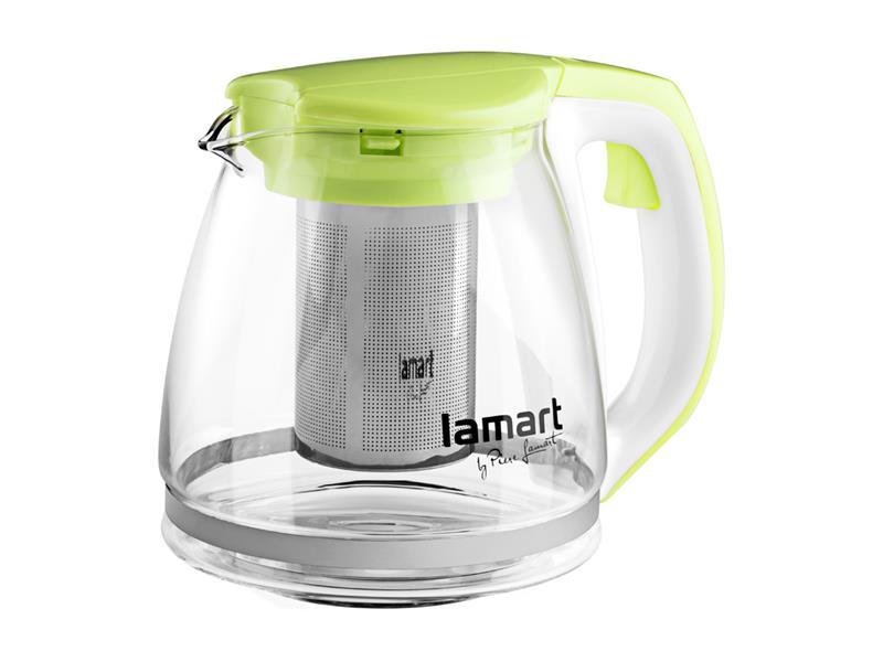 Kanvica na čaj LAMART LT7026 VERRE