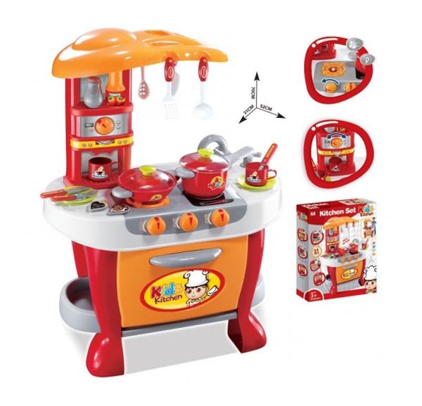 Detská kuchynka G21 MALÝ KUCHÁR s príslušenstvom