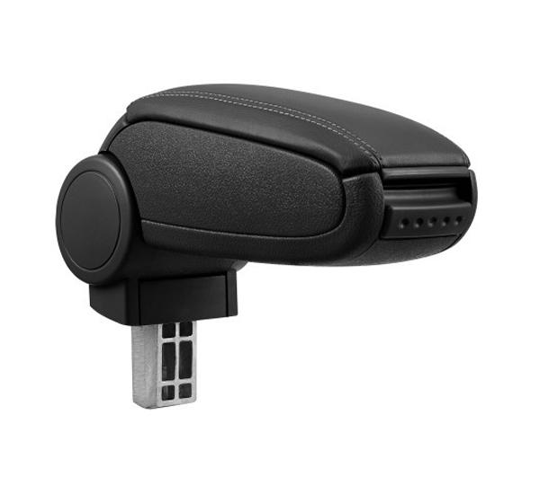 Opierka lakťová RENAULT CLIO IV 2012 a viac syntetická koža BLACK